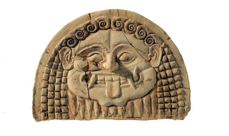 Gorgoneion antefix